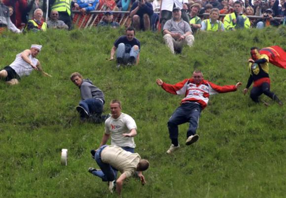 Сырная гонка в Куперсхилле
